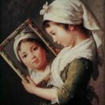 Bambina allo specchio 1