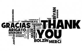 Grazie in diverse lingue