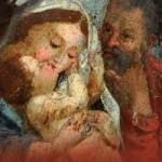Sacra Famiglia (Gesù bacia Madonna)