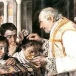 Ceneri (imposizione da un prete)