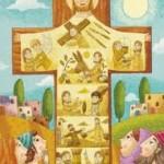 Palme - Gesù in croce