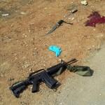Pistola e coltelli