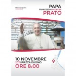 Prato e Firenze - logo della visita del Papa