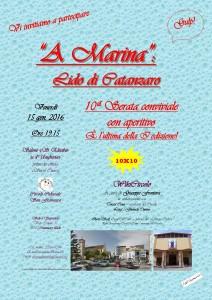 A Marina - Volantino